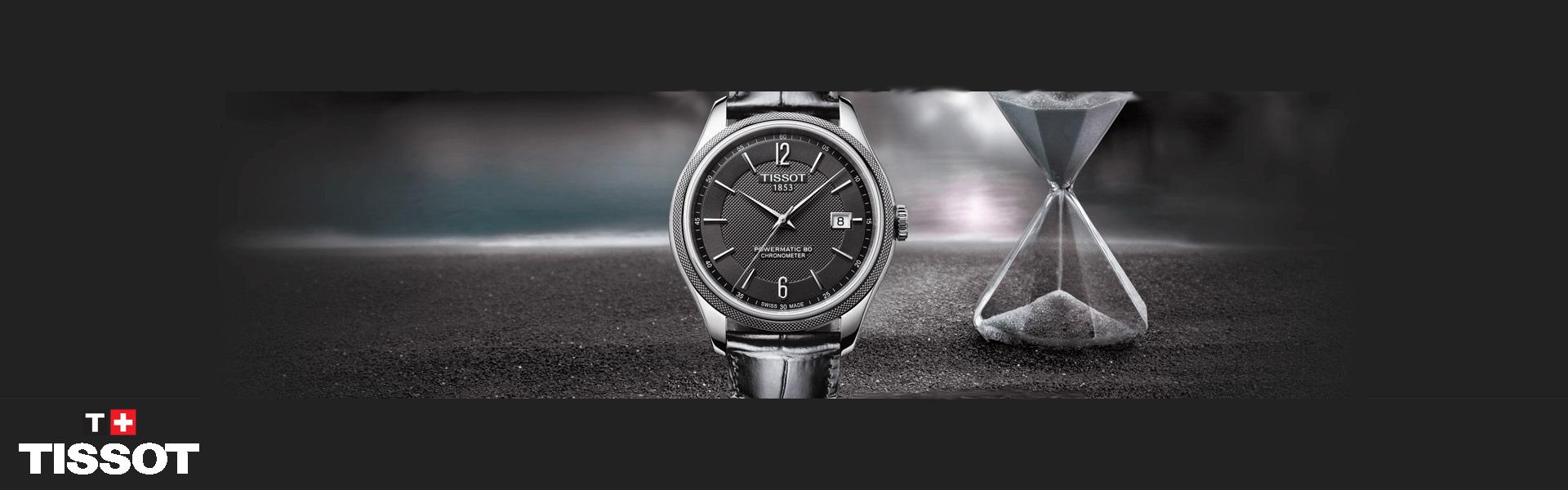 Slide Tissot horloges
